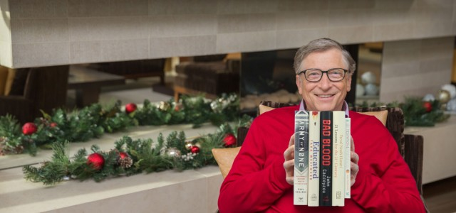 Bill Gates Holiday Books 2018